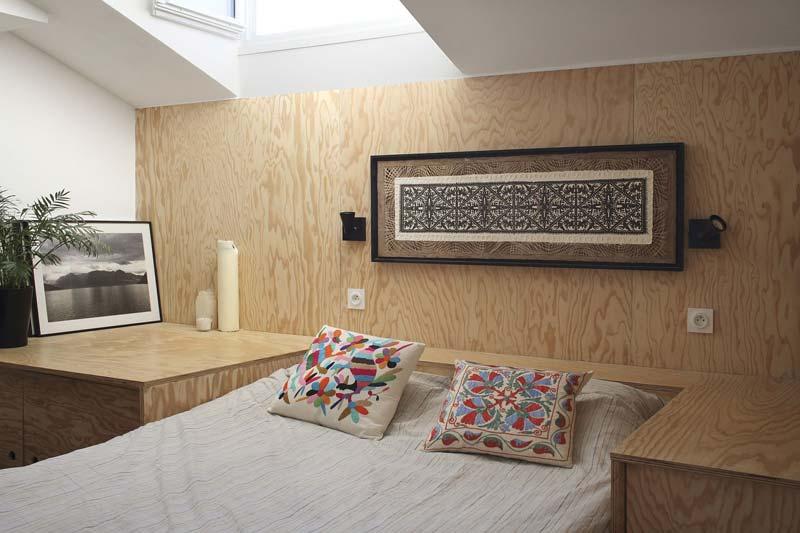 multiplex bed slaapkamer