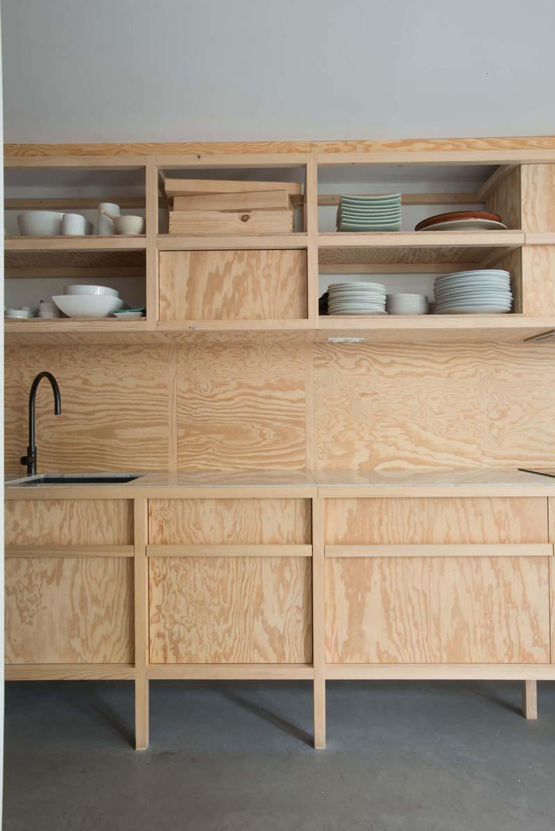 multiplex keuken marmeren werkblad