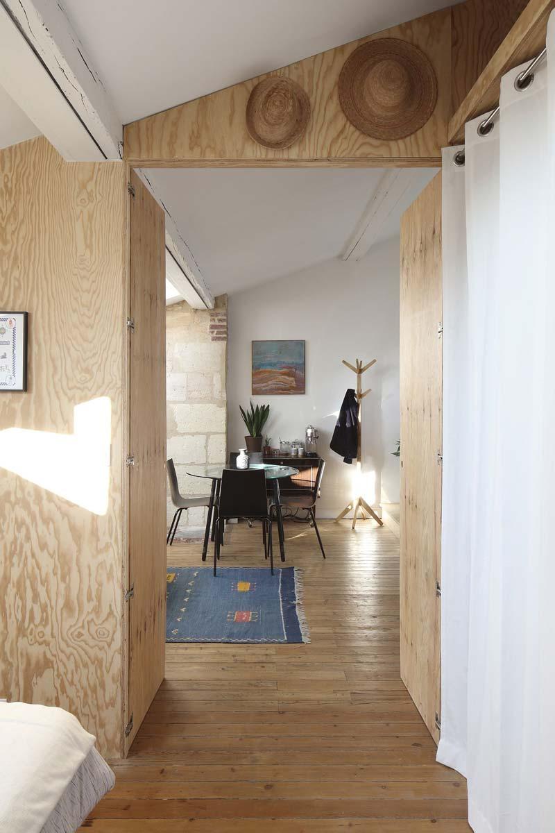multiplex muren slaapkamer