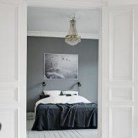 Muur grijs schilderen