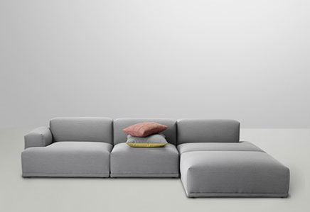 Muuto Connect bank sofa
