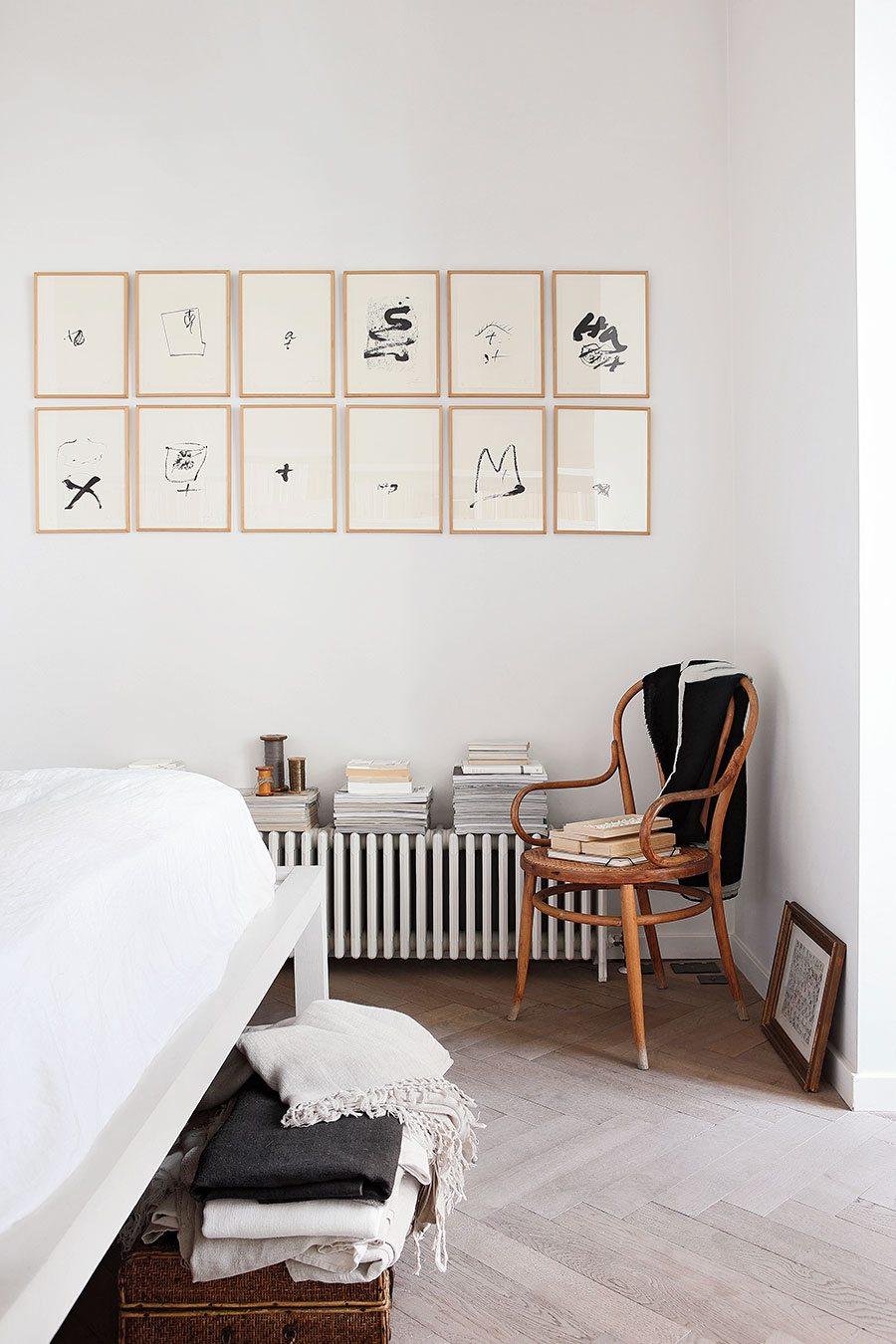 Binnenkijken in de woning van modeontwerpster Anna Valentines