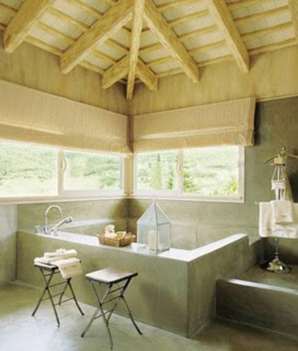 Natuurlijke badkamer ideeen