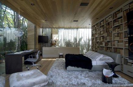 Natuurlijke slaapkamer in Sao Paulo