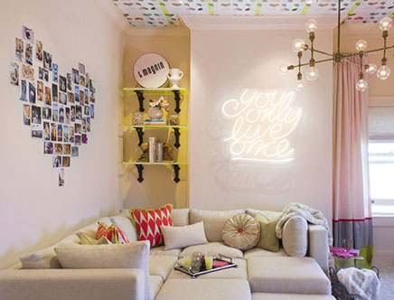 Neon Letters Huis : Neon letters in huis inrichting huis.com