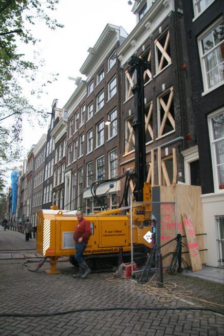 Nieuwbouw achter authentiek herenhuis
