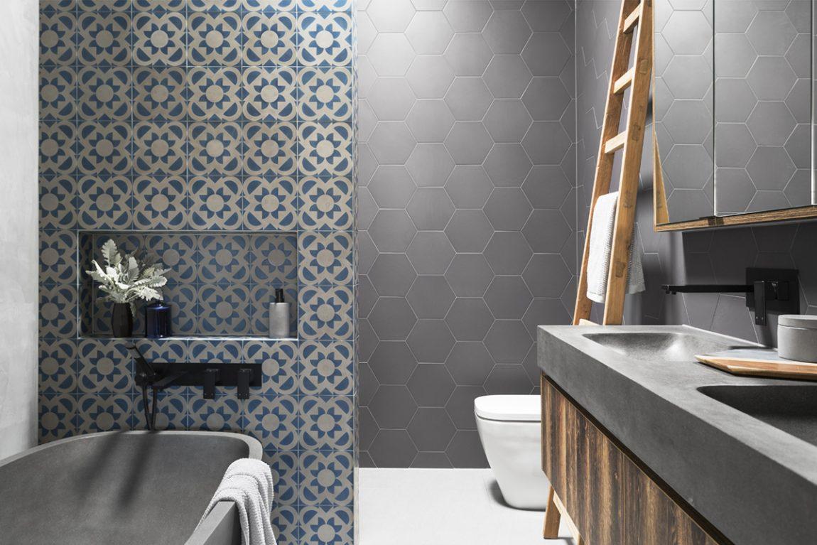 De nieuwe badkamer van Glenn en Iris!