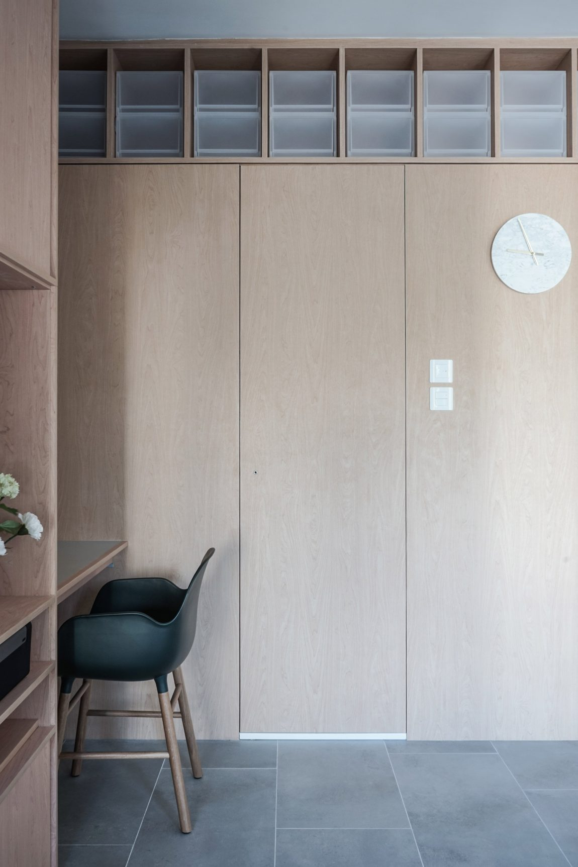 Een nieuwe indeling en interieurontwerp voor een klein appartement uit Hong Kong van 33m2