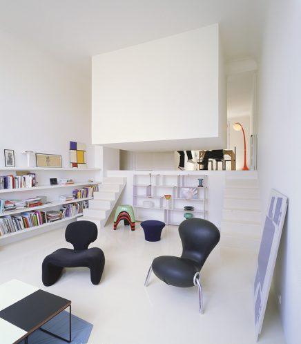 Niveauverschil in huis inrichting - Decoration interieur studio ...