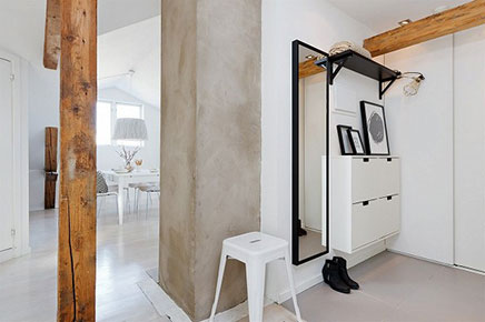 Brandblokken In Interieur : Noors penthouse met scandinavische interieur stijl inrichting