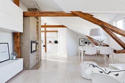 Noors penthouse met Scandinavische interieur stijl | Inrichting-huis.com