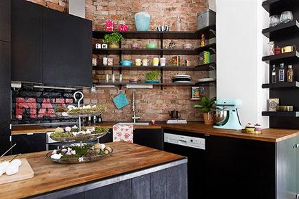 Noorse keuken uit oslo inrichting - Deco open keuken ...