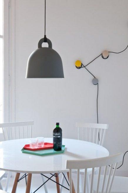 normann copenhagen bell lamp inrichting. Black Bedroom Furniture Sets. Home Design Ideas