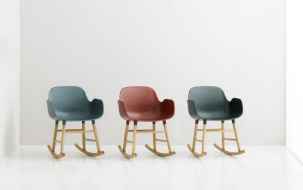 Normann Copenhagen Form rocking armchair