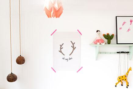 Ohmyhome keramiek en nieuwe posters inrichting huis