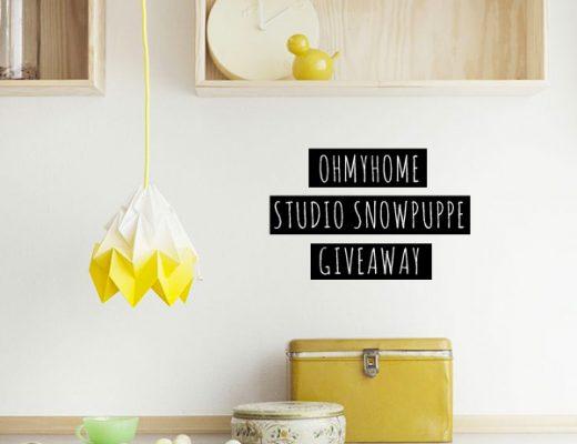OHMYHOME Studio Snowpuppe