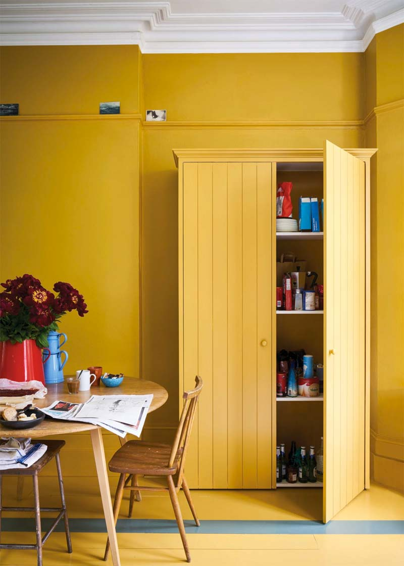 okergele muurverf farrow ball muurverf india yellow