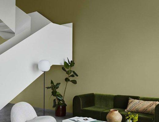 olijfgroen in interieur