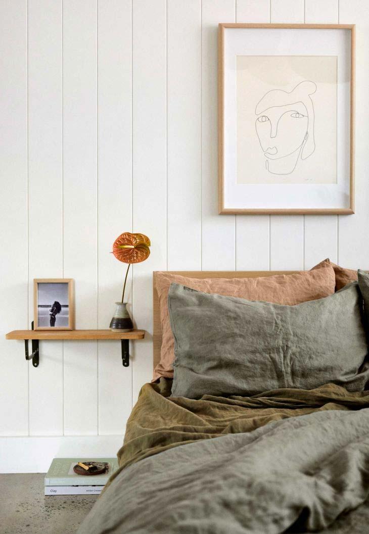 olijfgroene styling interieur