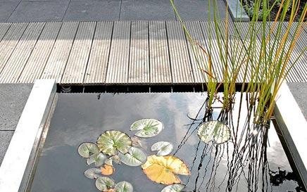 Geringer Wartungsaufwand schönen Garten