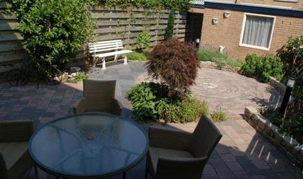 Onderhoudsvrije tuin in Kesteren