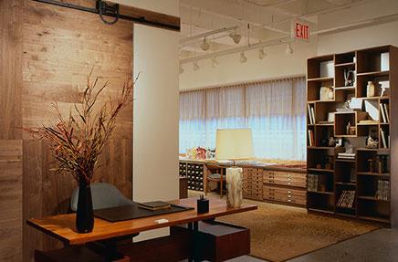 Ontwerp showroom en kantoor combinatie inrichting for Inrichting kantoor