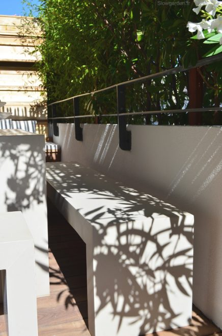 Ontwerp zonnig balkon terras van 30m2 inrichting - Terras van huis ...