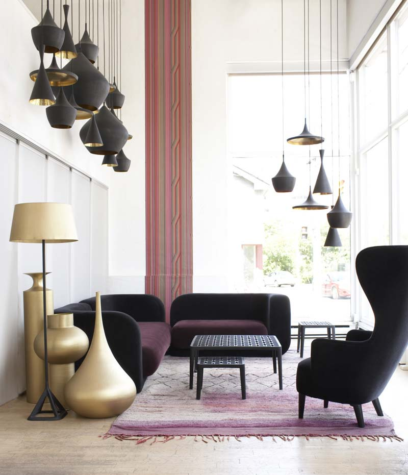 oorfauteuil tom dixon wingback chair
