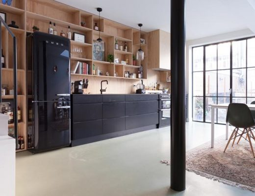 Op maat gemaakt industrieel keukenontwerp