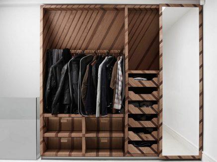 Op maat gemaakte kledingkast Hendzel + Hunt