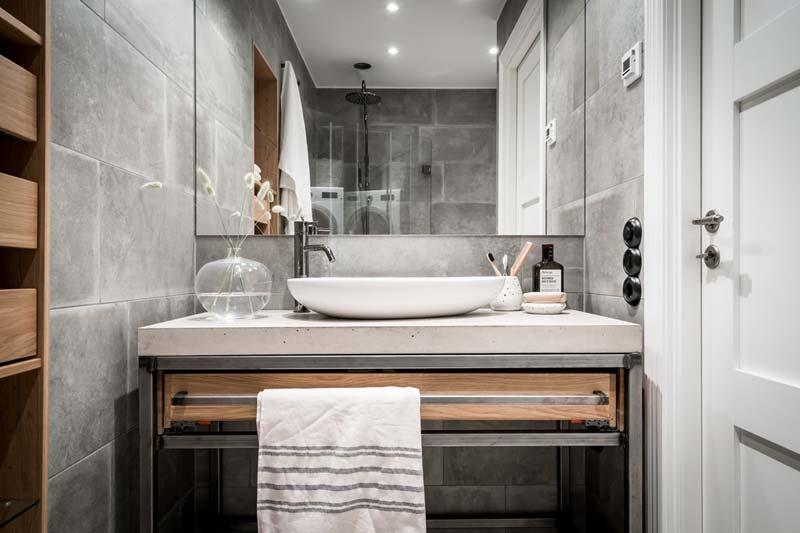 op maat gemaakte spiegel badkamer