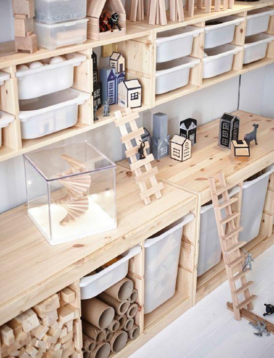 Leuke ideeën voor opslag van speelgoed | Inrichting-huis.com