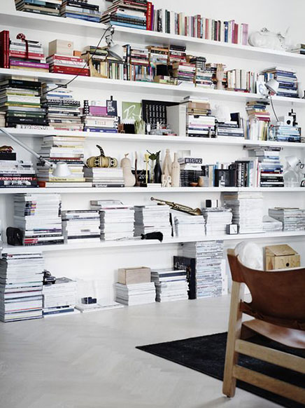 Open boekenplanken