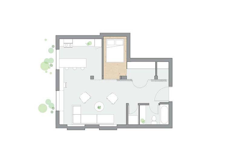 open indeling loft appartement