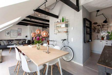 Open inrichting appartement