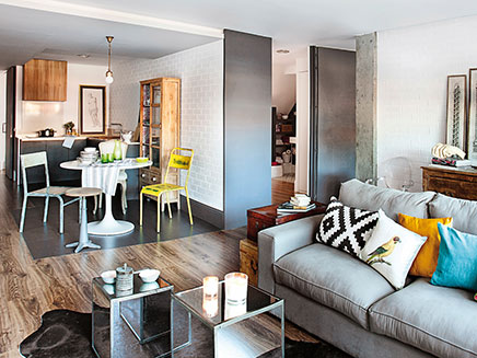open keuken voor kleine woonkamer  inrichtinghuis, Meubels Ideeën