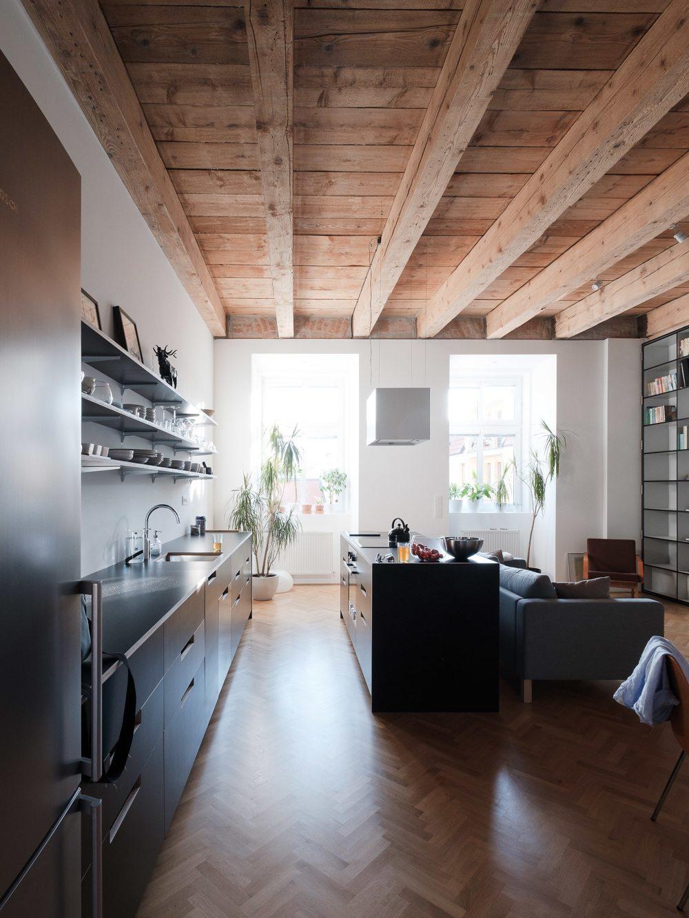 open-keuken-kookeiland