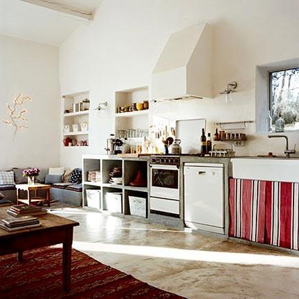 open keuken inrichting. Black Bedroom Furniture Sets. Home Design Ideas