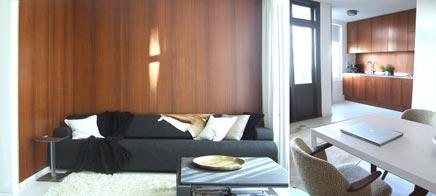 Open en lichte leefruimte in Amsterdam