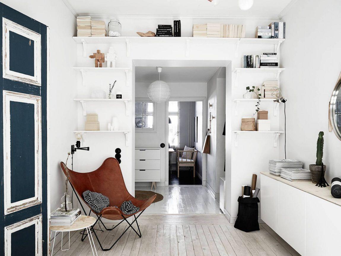 Open planken boven deur