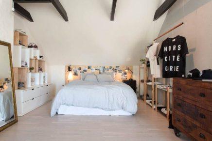 Open slaapkamer