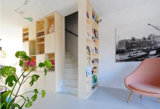 open trap dichtmaken met deur | inrichting-huis, Deco ideeën