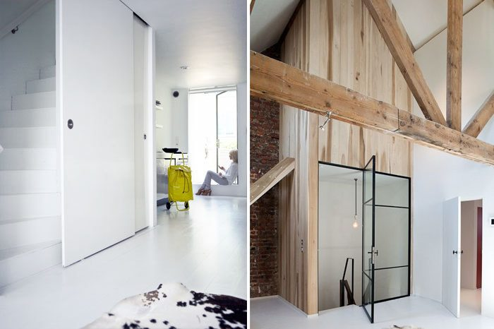 Open trap dichtmaken met deur | Inrichting-huis.com