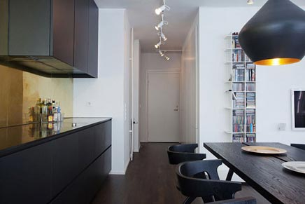 Open woninginrichting in Stockholm