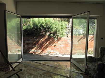 Openslaande deuren tuin