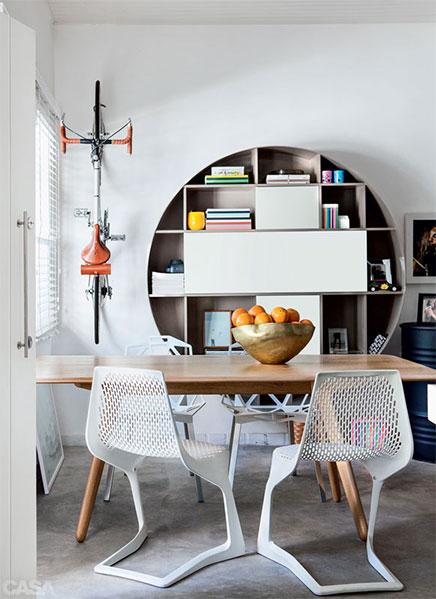 Opgeknapte design huurwoning