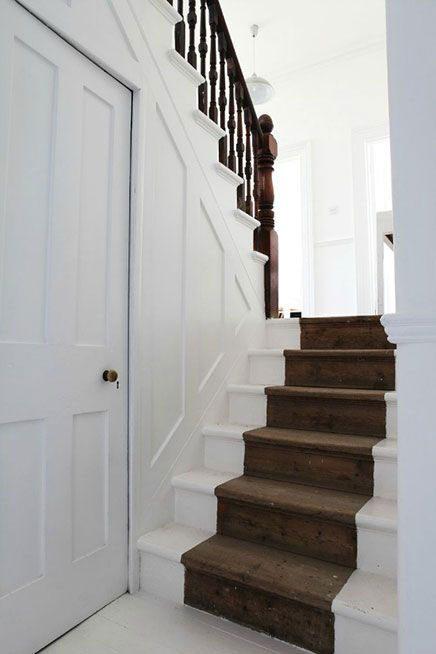 Opgeschuurde trap inrichting - Huis trap ...