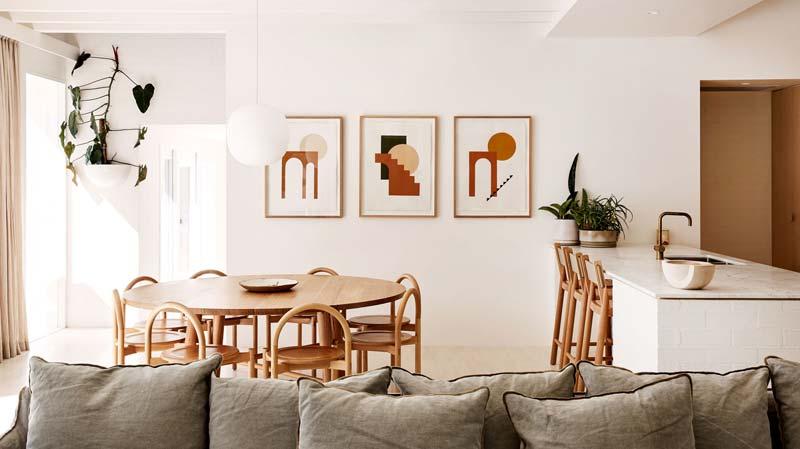 organische prints interieur
