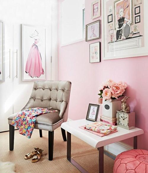slaapkamer oud roze ~ lactate for ., Deco ideeën