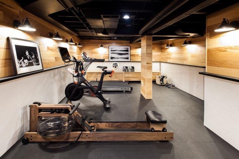 Van oude kelder tot super mooie fitnessruimte inrichting